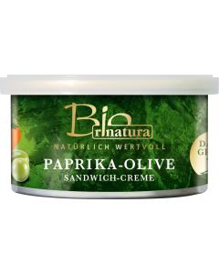 rinatura Paprika & Oliven Sandwich-Creme Bio 125 G