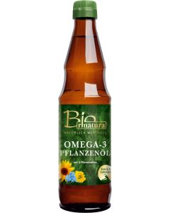 rinatura Omega-3-Pflanzenöl Bio 0,5 l