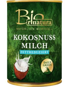 rinatura Kokosmilch fettreduziert Bio 400 ML