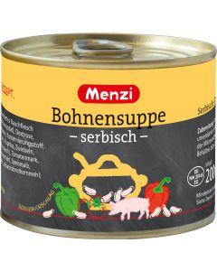 Serbische Bohnensuppe von MENZI, 5x200ml