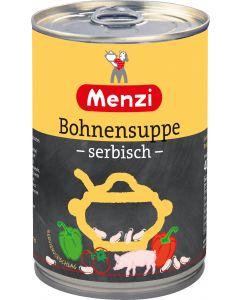 Serbische Bohnensuppe von MENZI, 400ml