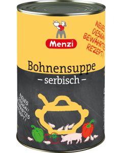 Serbische Bohnensuppe von MENZI, 4.200g