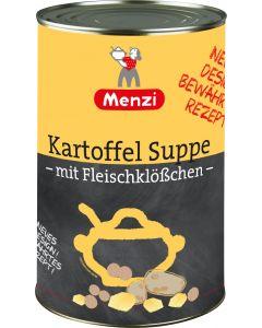 Kartoffel Suppe mit Fleischklößchen von MENZI, 4.200g