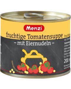 Fruchtige Tomatensuppe mit Eiernudeln von MENZI, 5x200ml