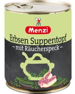 Erbsen Suppentopf mit Räucherspeck von MENZI, 800g