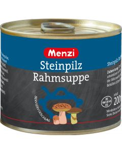 Steinpilz Rahmsuppe cremig von MENZI, 5x200ml
