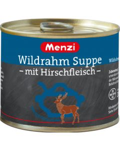 Wildrahm Suppe mit Hirschfleisch von MENZI, 5x200ml