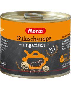 Gulaschsuppe ungarisch 1:1 von MENZI, 5x200ml