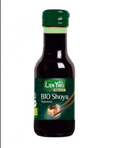 Lien Ying Organic Shoyu Würzsoße auf Sojabasis, 140 ml