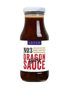 Johann Lafer Dragon Sauce BBQ Sauce spicy, 240 ml
