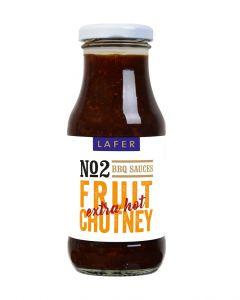 Johann Lafer Fruit Chutney BBQ Sauce extra hot, 240 m