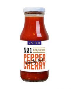 Johann Lafer Peppercherry BBQ Sauce fruity hot, 240 ml